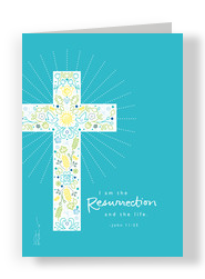 Resurrection and Life 5x7 Folded Card