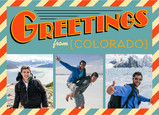 Greetings From… 7x5 Postcard