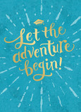 Let the Adventure Begin! 5x7 Folded Card