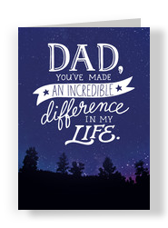Fathers day cards cardstore incredible difference 5x7 folded card m4hsunfo