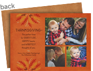 The Perfect Time for Gratitude 7x5 Flat Card