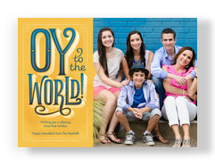 Oy to the World! 7x5 Flat Card