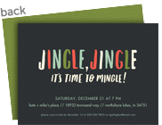 Jingle Jingle Party Invitation 7x5 Flat Card