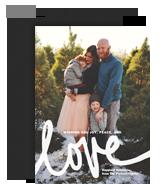 Holiday Love 5x7 Flat Card