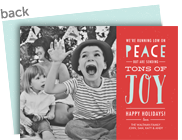 Tons of Joy 7x5 Flat Card