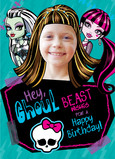 Monster High - Beast Wishes 5x7 Folded Card