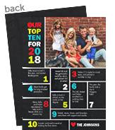 2018 - Top Ten 5x7 Flat Card
