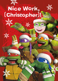 TMNT - Awesome List 5x7 Folded Card