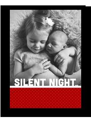 Silent Not 5x7 Flat Card