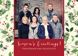 Season's Greetings Photo 7x5 Postcard