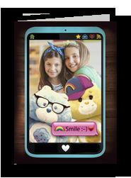 Care Bears - Smartphone Smile 5x7 Folded Card
