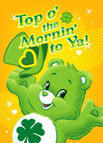 Care Bears - Top o' the Mornin' 5x7 Folded Card