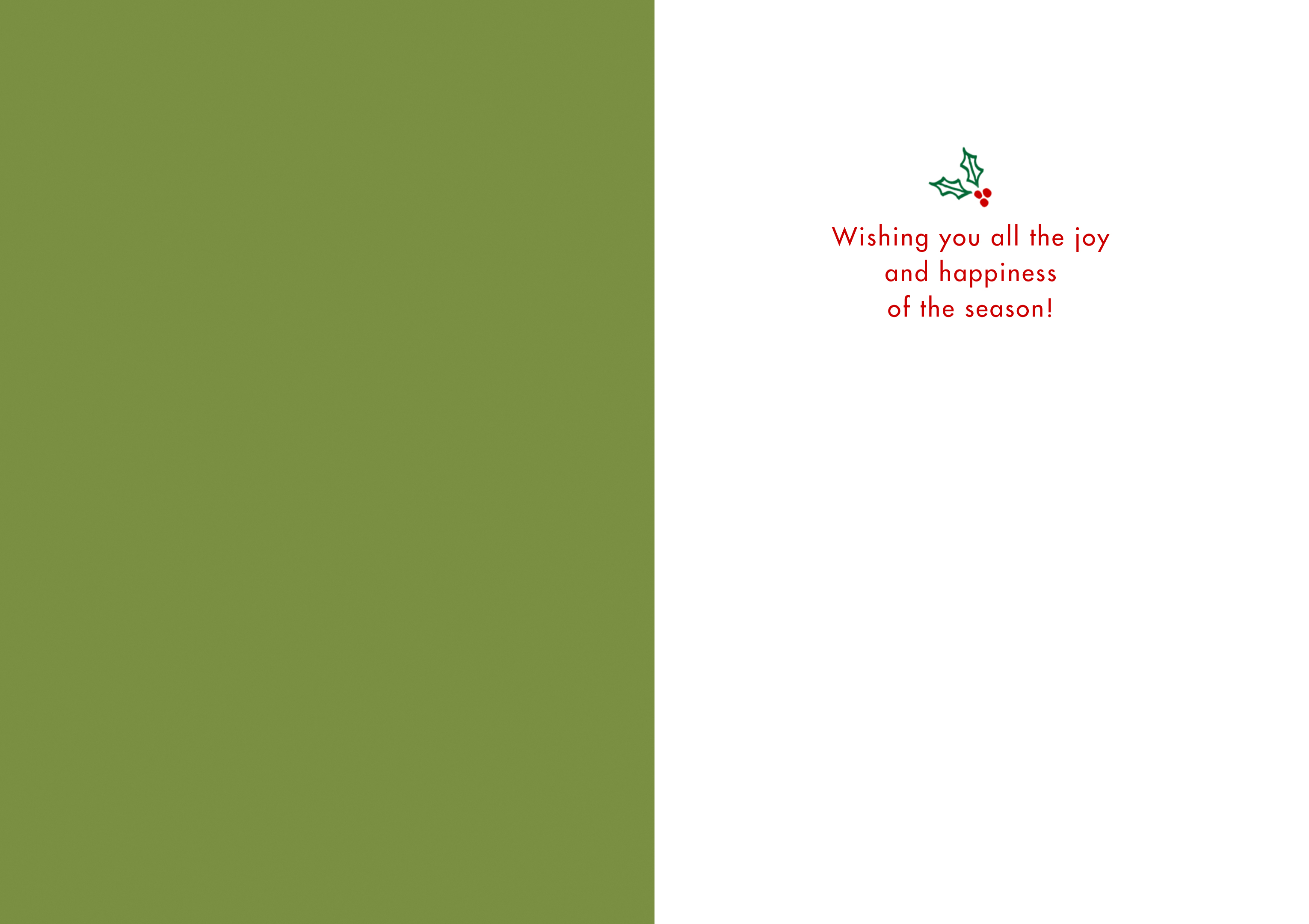 Design Your Own Christmas Cards, Postcards, or Invitations - Cardstore