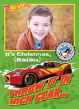 Hot Wheels - High Gear Christmas 5x7 Folded Card