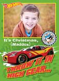 Hot Wheels - High Gear Christmas 5x7 Folded Card
