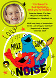 Sesame Street - Make Some Noise 5x7 Flat Card