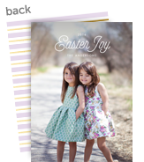 Easter Joy Photo Card 5x7 Flat Card