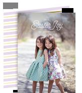 Easter Joy Photo Card 5x7 Flat Card