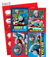 Thomas & Friends Photo Valentine Cards 5x7 Flat Card