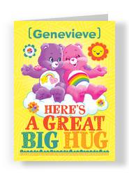 Care Bears - Great Big Hug Card 5x7 Folded Card