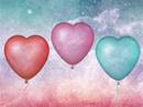 Valentine Balloons Interactive Valentine's Day eCards
