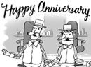 Anniversary Quartet Anniversary eCards
