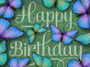 Birthday Butterflies Interactive Birthday eCards