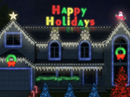 Holiday Lights Personalized Christmas eCards