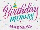 Birthday Memory Quiz Interactive Birthday eCards