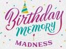 Birthday Memory Quiz Interactive Birthday eCards
