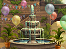 Enchanted Courtyard Hidden Objects Game Birthday eCards