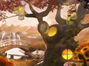 Fall Enchantment 'Hidden Objects' Game Thanksgiving eCards