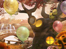 Birthday Enchantment 'Hidden Objects' Game Seasonal eCards