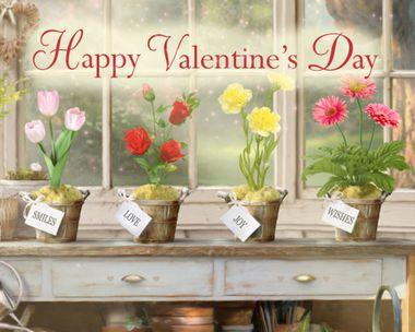 Valentine's Day Garden Interactive