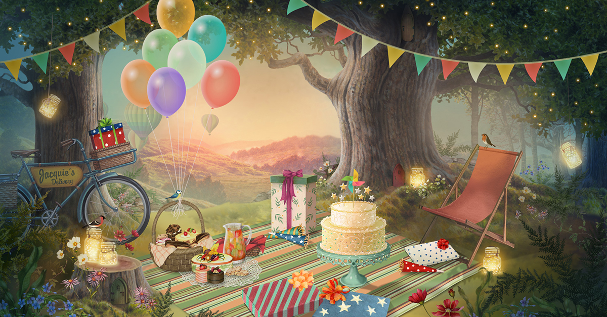 Astounding Happy Birthday Celebration Picnic E Card By Jacquie Lawson Funny Birthday Cards Online Drosicarndamsfinfo