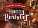 Christmas Clock Birthday (Personalize) Christmas eCards