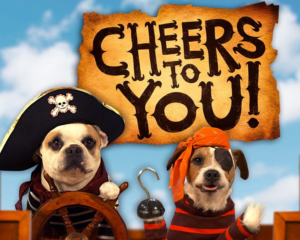 Pirate Dog Video Ecard (Personalize Lyrics)