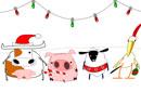Christmas Hoedown Christmas eCards