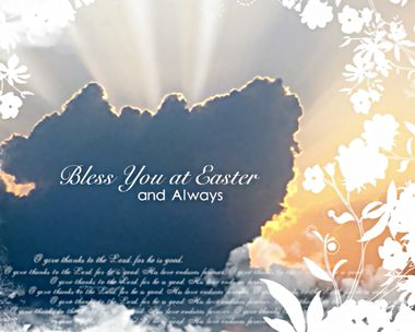 Easter Blessing for You Ecard