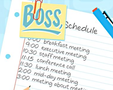 Your Busy Schedule Ecard