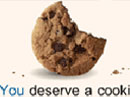 You Deserve a Cookie Ecard Anytime eCards