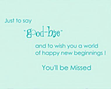Happy New Beginnings Ecard