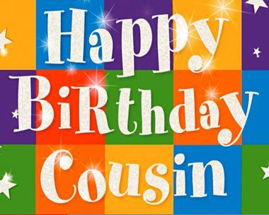 COUSIN BIRTHDAY CARD
