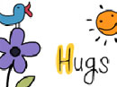 Sending You a Hug Ecard Hugs & Kisses eCards