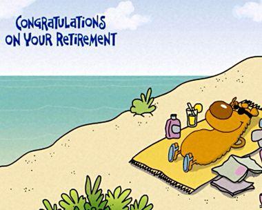 Congrats on Your Retirement Ecard