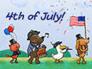 All-American Parade Ecard Independence Day eCards