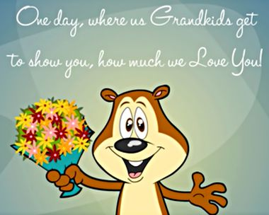 One Day for Grandparents Ecard