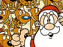 Reindeer Team Game Christmas eCards