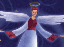 Angel Gifts (The First Noel) Christmas eCards