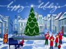 Holiday Village Christmas eCards